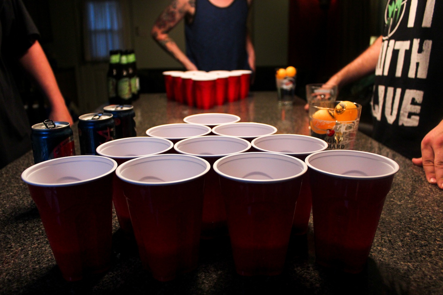 College Style Beer Pong Rules & Regulations