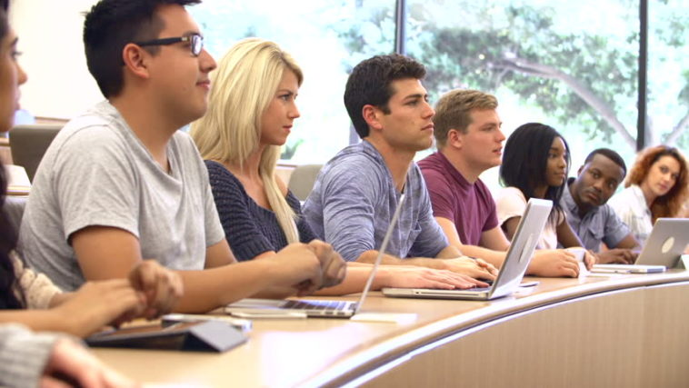 ref: http://www.shutterstock.com/video/clip-3748142-stock-footage-multi-ethnic-it-class-adult-students-retraining-for-future-career.html
